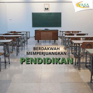 Memperjuangkan Pendidikan